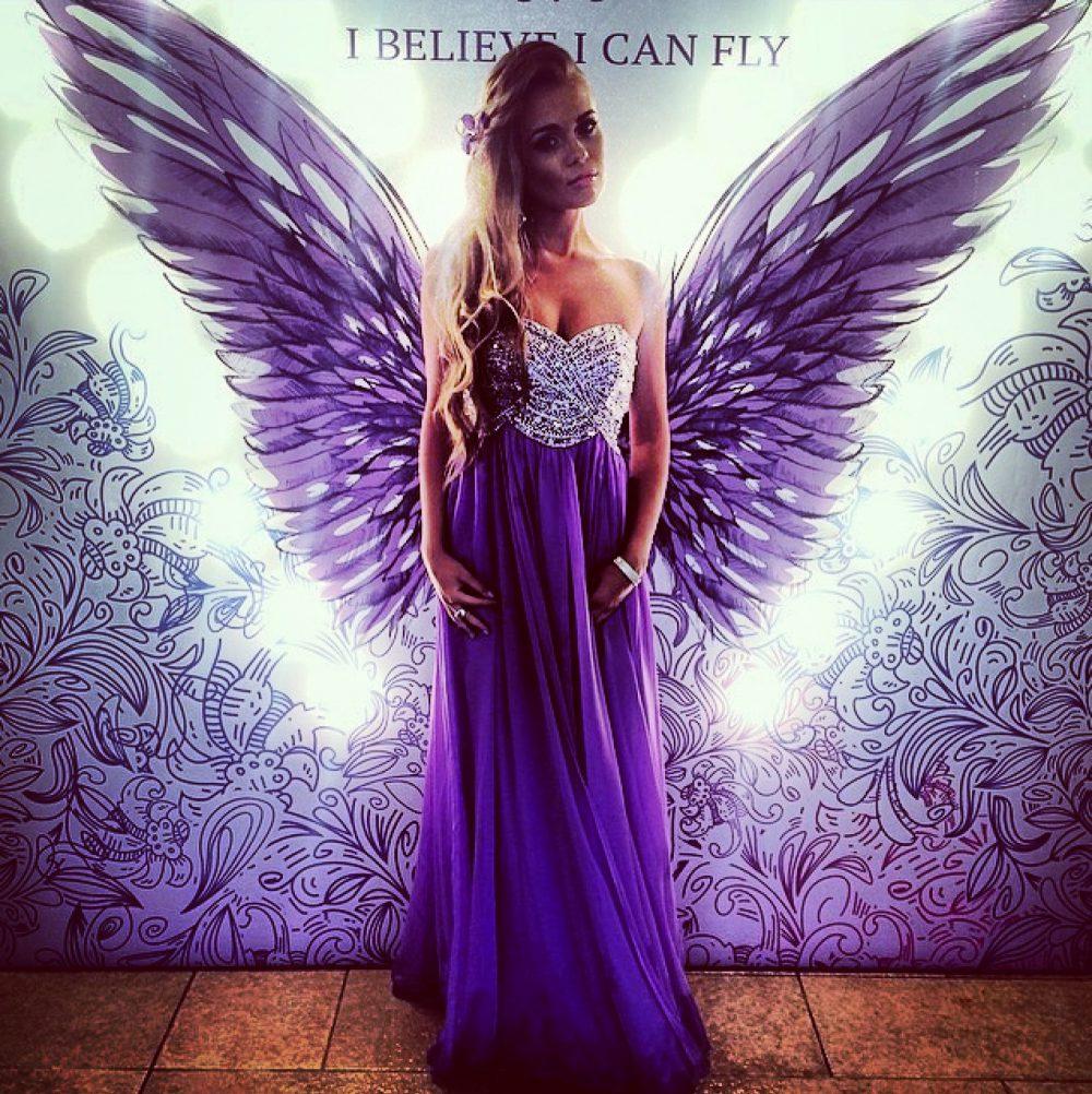Фотозона с Ангельскими крыльями