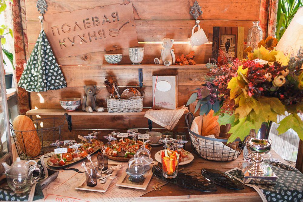 Полевая кухня для гостей