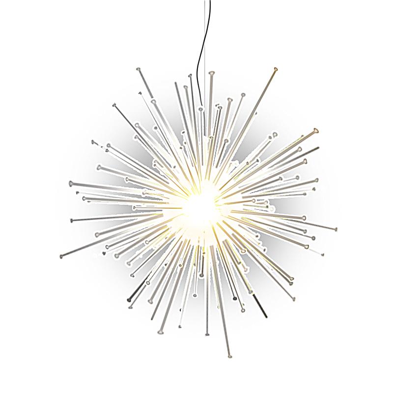 Эскиз светящейся снежинки -шара