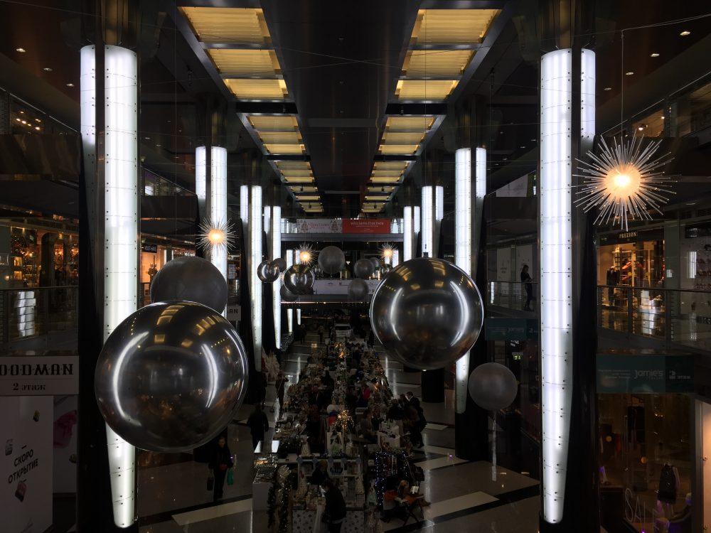 Хромированные шары Декор
