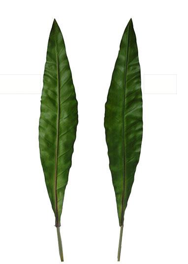 Листья тропические банановые (премиум качество). H= 100 см; Цена =90 руб /шт