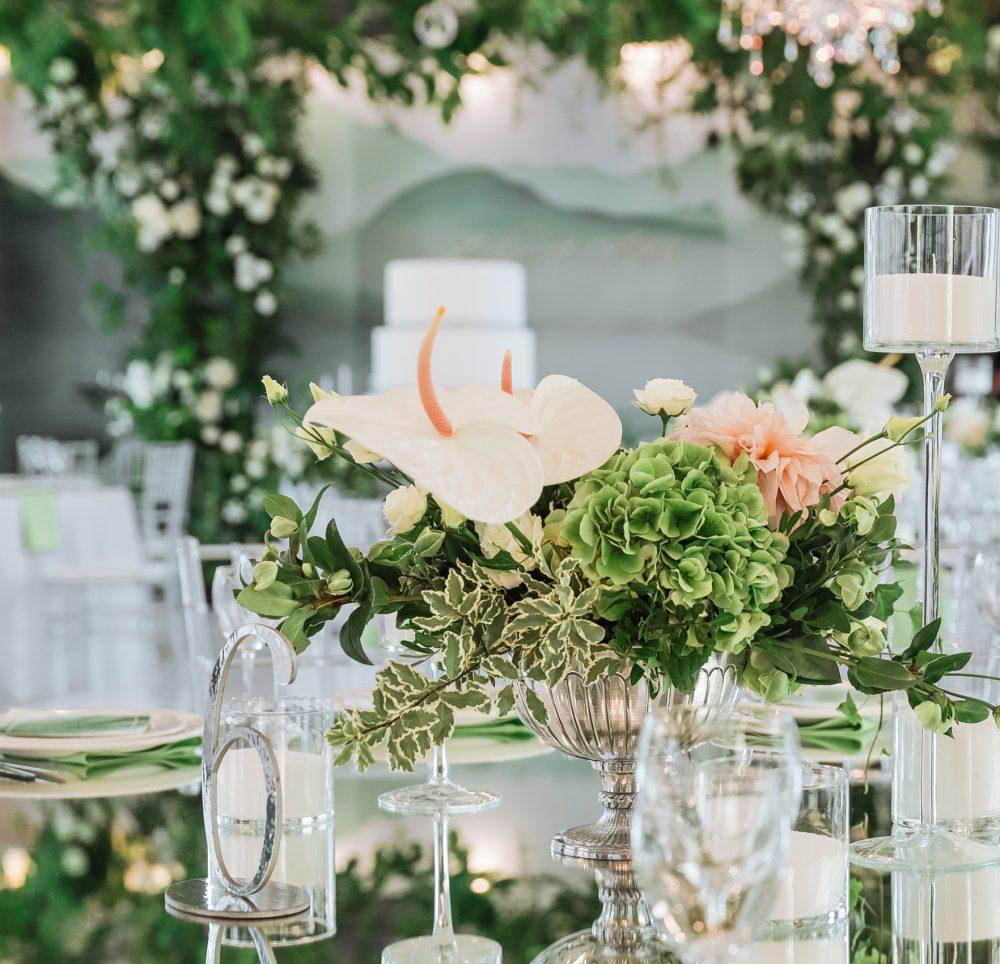 Столы гостей Свадебные композиции