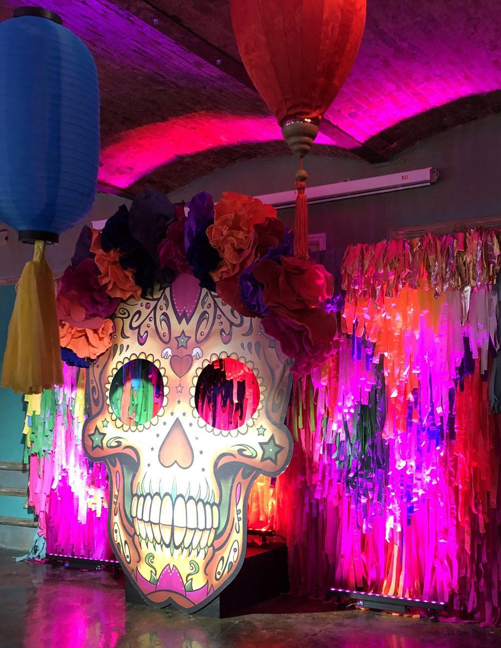 Фотозона декор маска в стиле Мексика