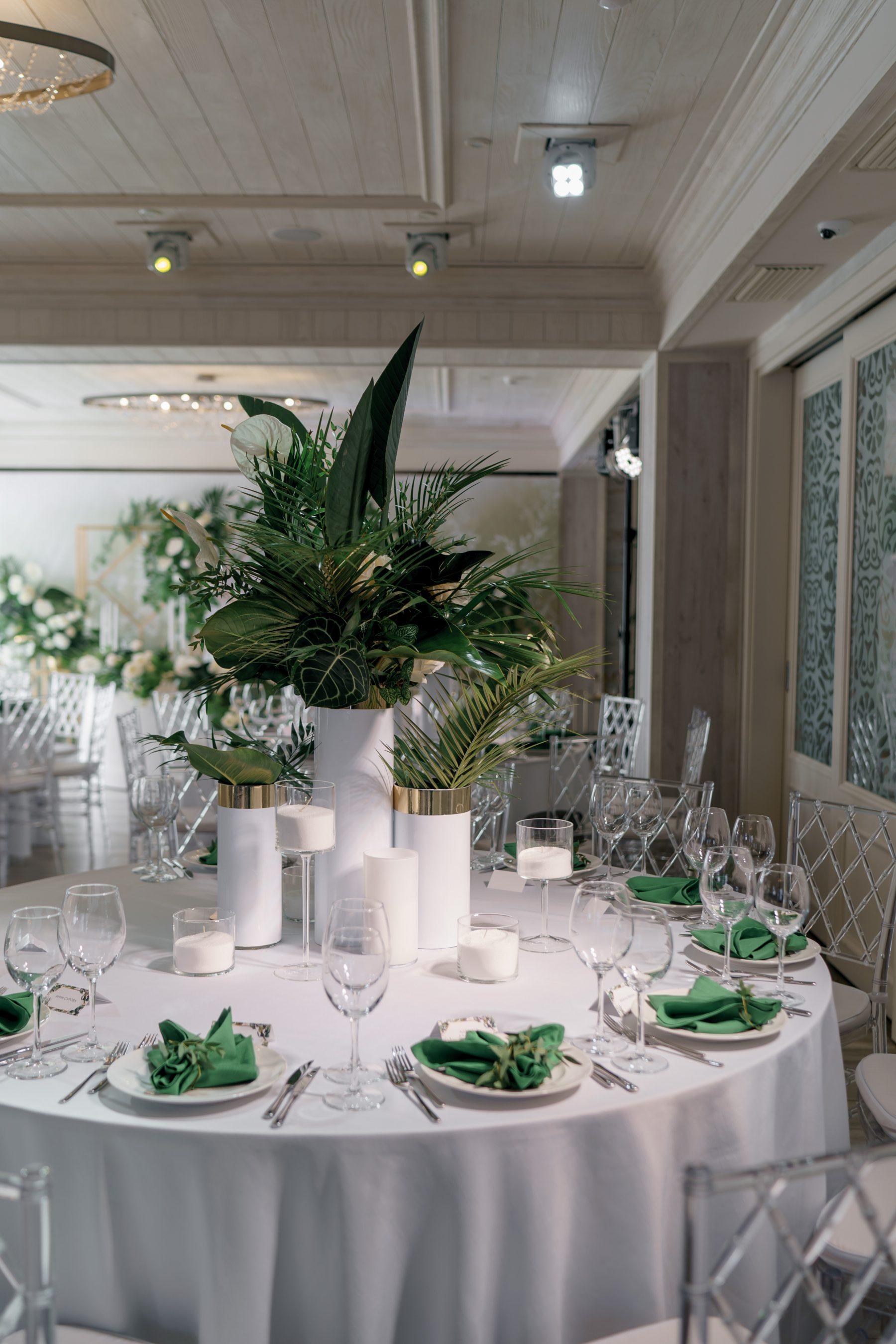 Свадебный декор флористика