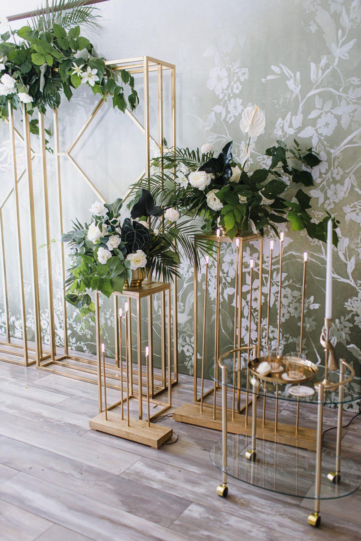 Подставки для цветов на свадьбу интересная свадьба