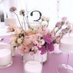 Большие свечи сервировка праздничного стола