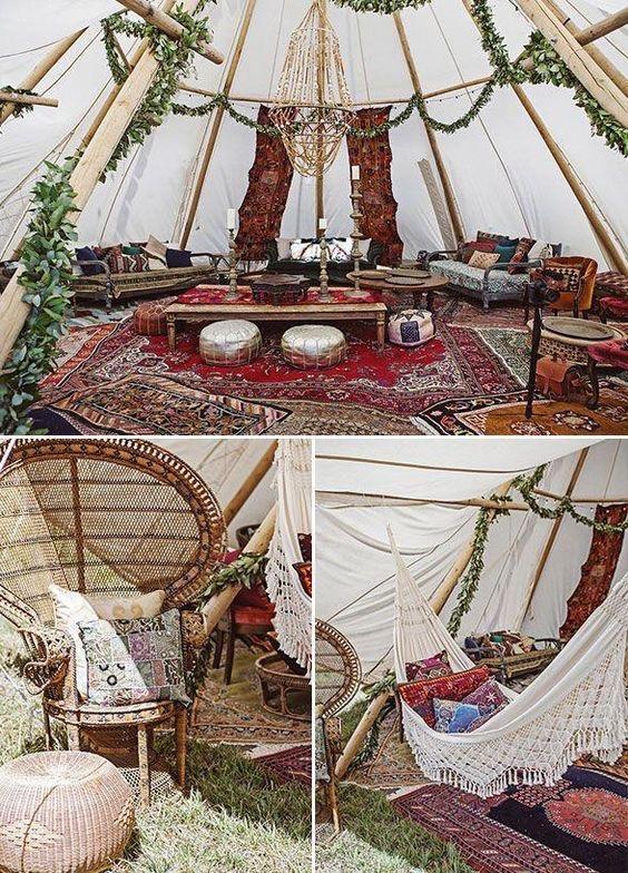 свадьба в стиле Бохо москва декор