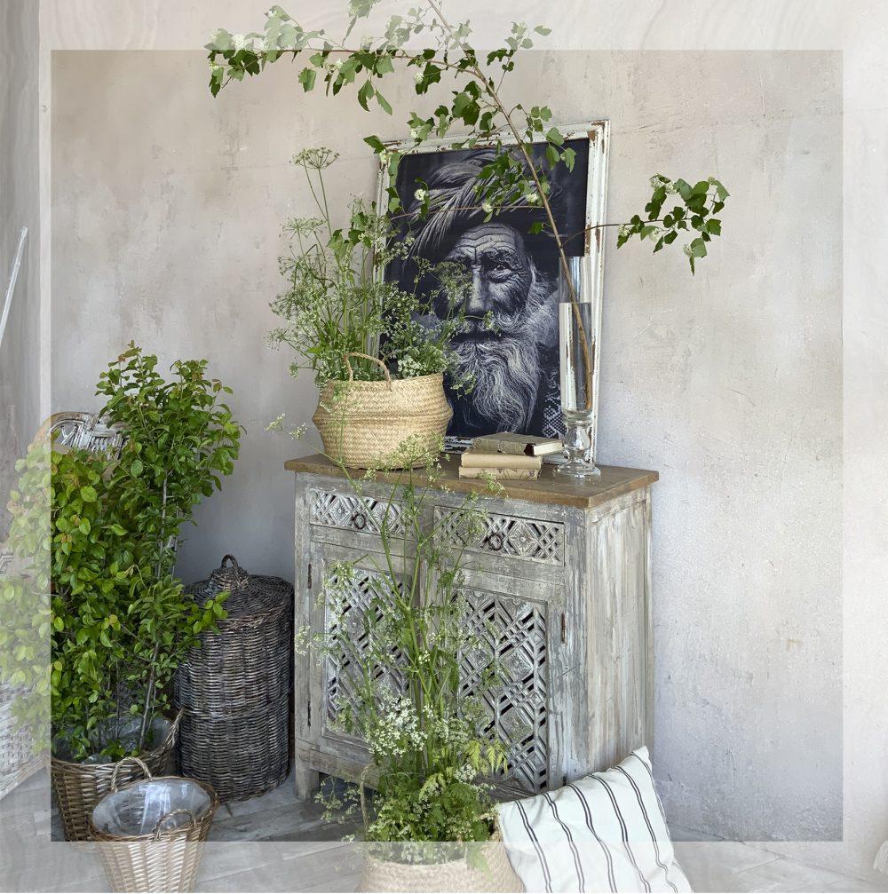 Декор полевые растения и текстиль аренда